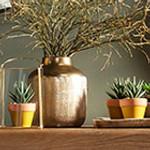 Donice i rośliny sztuczne