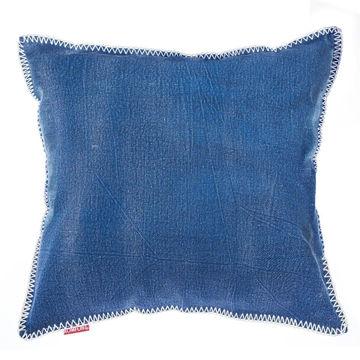 PODUSZKA MOUSSE BLUE 45X45