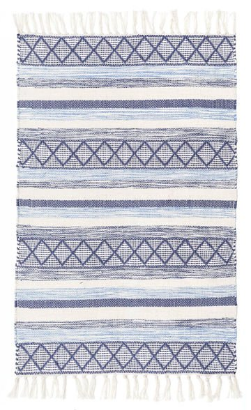 DYWANIK INDIAN BLUE 80X130
