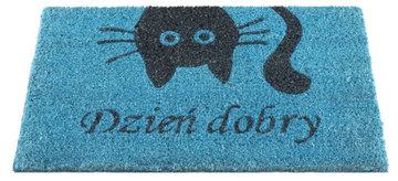 WYCIERACZKA BLUE CAT DZIEŃ DOBRY 40x70