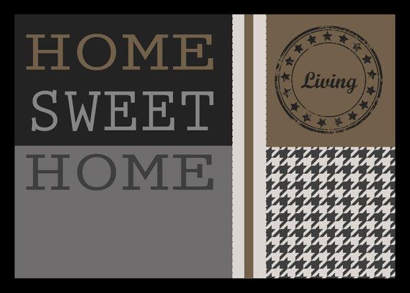 WYCIERACZKA HOME SWEET HOME 50 40X60