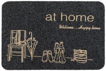 WYCIERACZKA AT HOME GREY 40X60