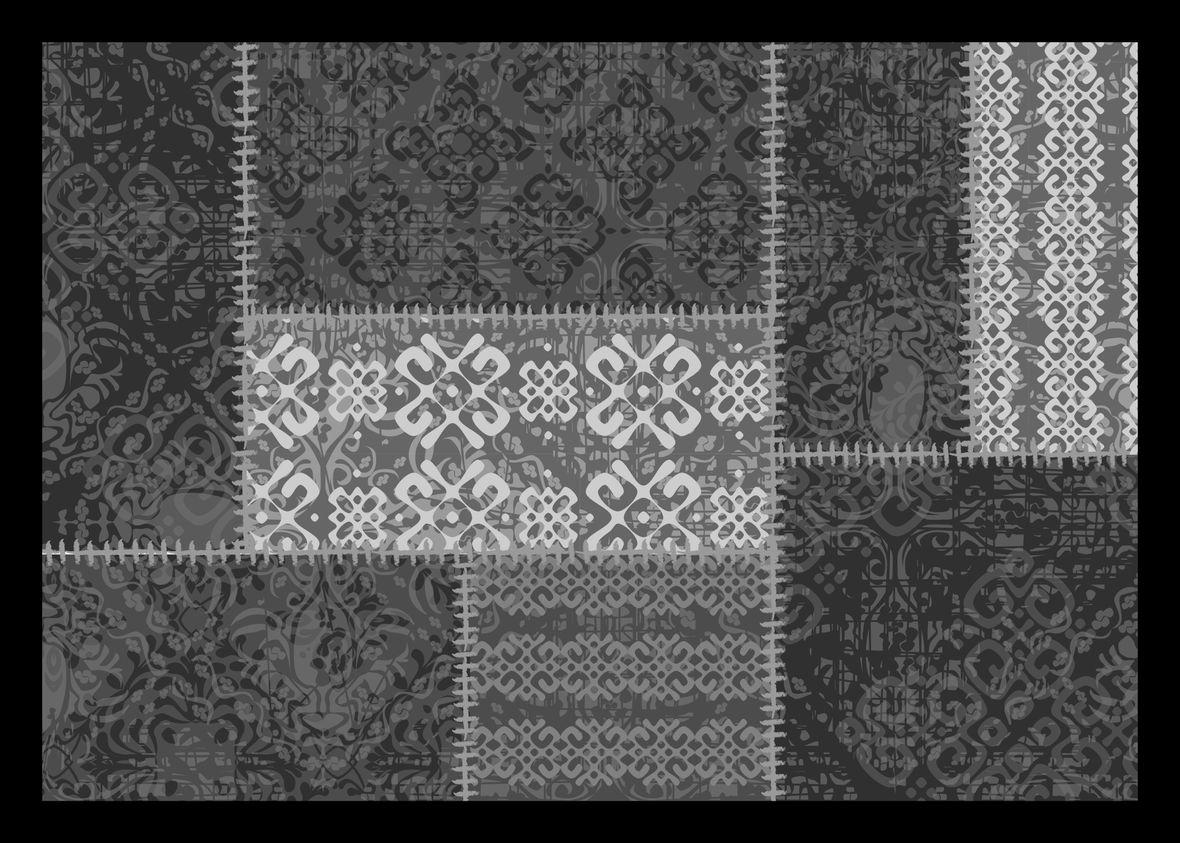 WYCIERACZKA ORIENTAL PATCH 50 40X60