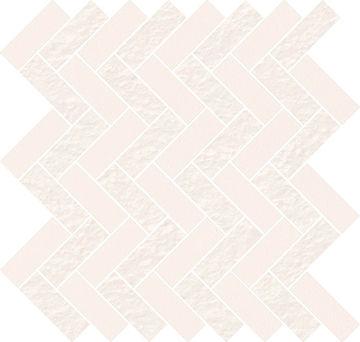 MOZ WHITE MICRO PARQUET MIX 31,3X33,1