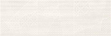 FERANO WHITE PATCHWORK INSER SATIN 24X74