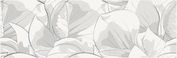 FLOWER CEMENTO WHITE INSERTO 24X74