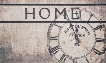 WYCIERACZKA POLY HOME CLOCK 45X75